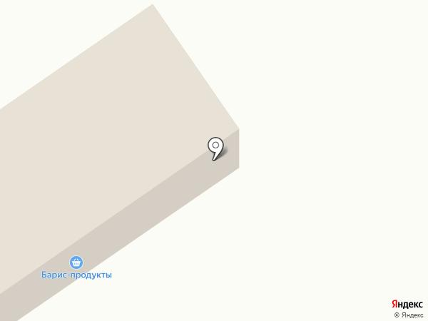 Uniplat на карте Нижнего Саянтуя