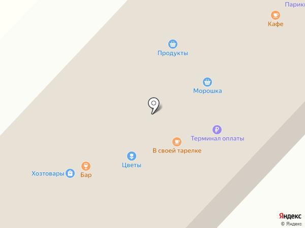 Хозтовары и стройматериалы на карте Нижнего Саянтуя