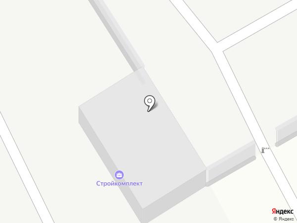Стройкомплект на карте Улан-Удэ