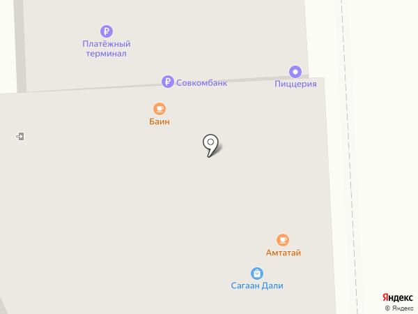 Ибис на карте Улан-Удэ