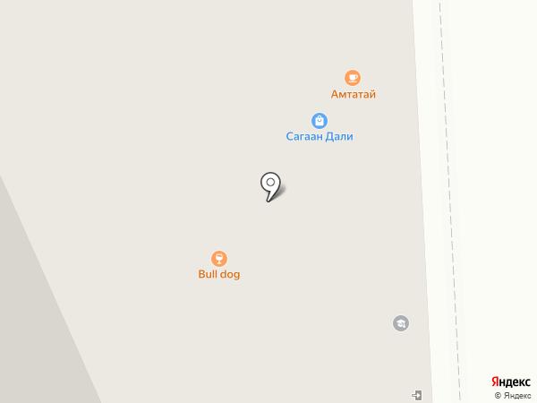 Snoopy`s Sandwich Club на карте Улан-Удэ