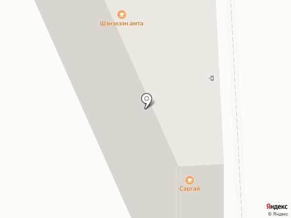 Нор-бо на карте Улан-Удэ