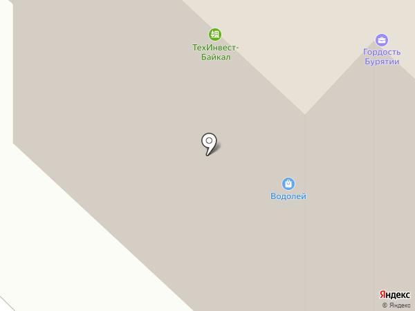 Буряад FM, FM 90.8 на карте Улан-Удэ