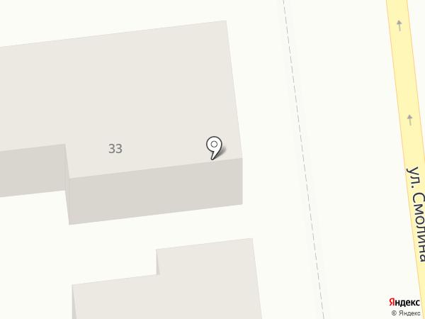 Посейдон на карте Улан-Удэ