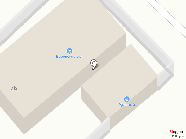 Удачный на карте Улан-Удэ