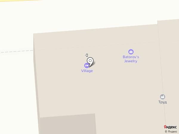 Барис на карте Улан-Удэ