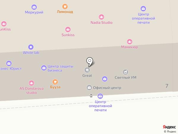 Роботрек на карте Улан-Удэ