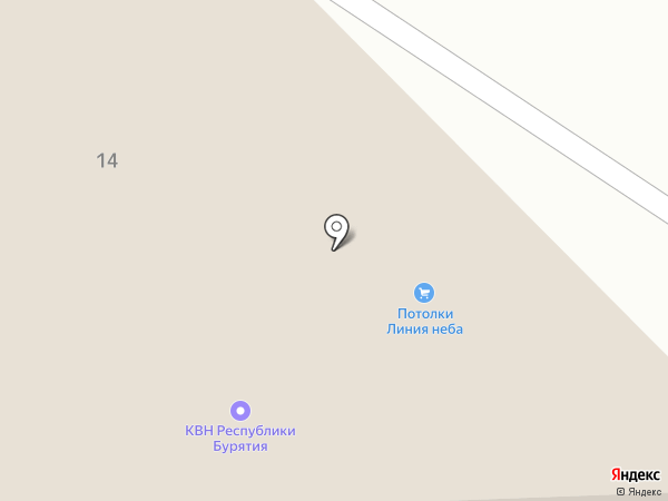Выход на карте Улан-Удэ