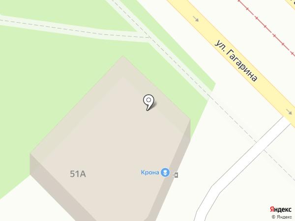 Крона на карте Улан-Удэ