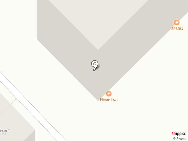 Имин Гол на карте Улан-Удэ