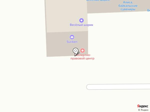 Единый экспертно-правовой центр, АНО на карте Улан-Удэ