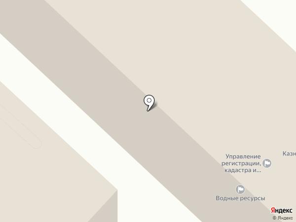 Меридиан на карте Улан-Удэ