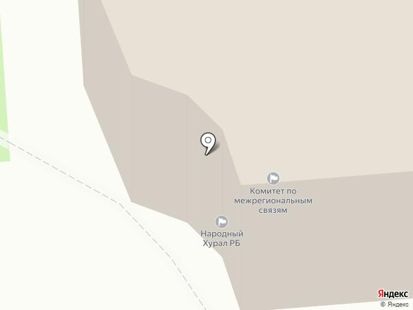 Общественная приемная члена Совета Федерации Федерального Собрания РФ Тулохонова А.К. на карте Улан-Удэ