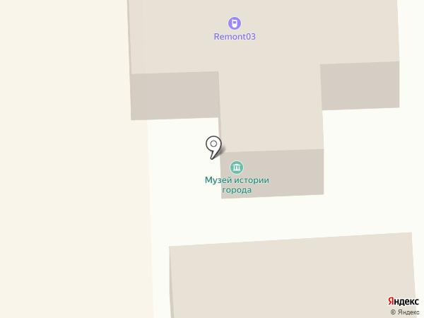 Школа Муз на карте Улан-Удэ