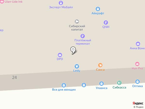 Брэнд ПК на карте Улан-Удэ