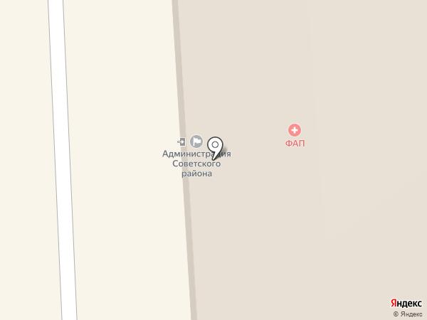 Комиссия по делам несовершеннолетних по Советскому району на карте Улан-Удэ