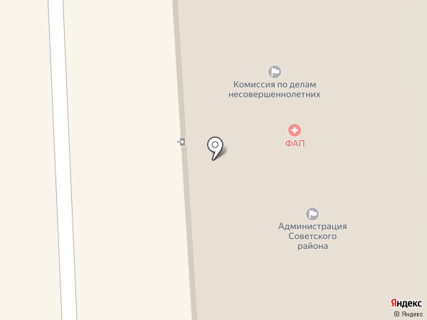 Отдел по ЧС Советского района на карте Улан-Удэ