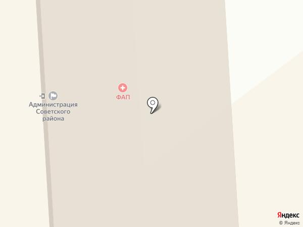 Совет ветеранов Советского района на карте Улан-Удэ