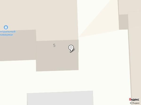 Центральный на карте Улан-Удэ