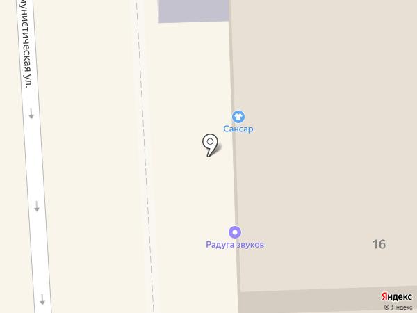 ЖЭУ-2 на карте Улан-Удэ