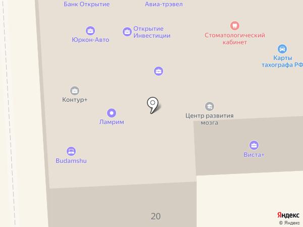 Контур+ на карте Улан-Удэ