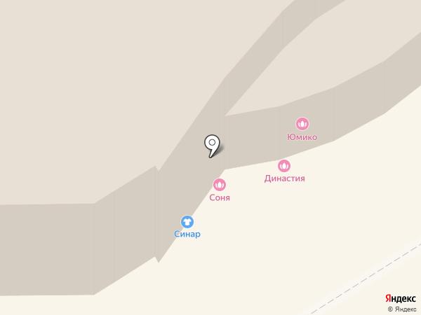 Овация на карте Улан-Удэ