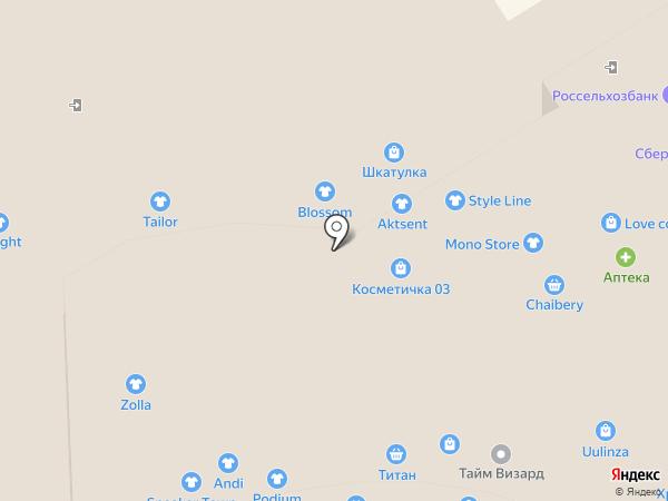 Этника на карте Улан-Удэ