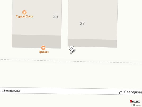 Дали на карте Улан-Удэ
