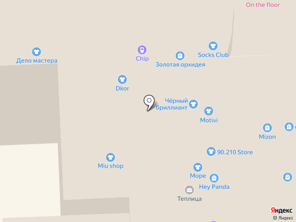 Чёрный Бриллиант на карте Улан-Удэ