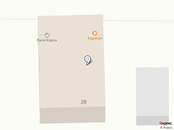 У Цырмы на карте Улан-Удэ