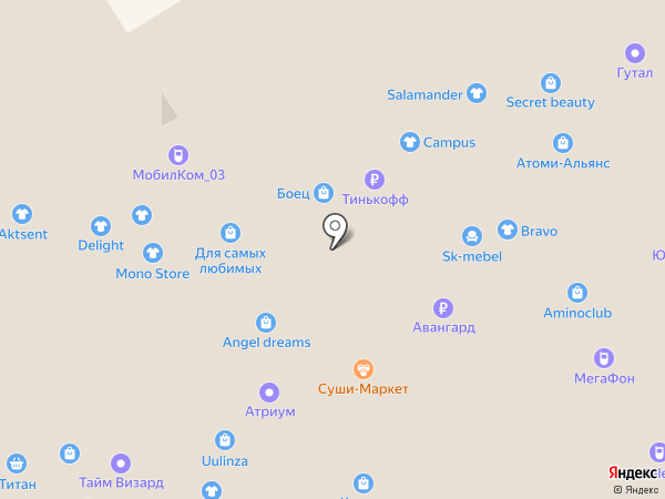 Банкомат, Росгосстрах банк, ПАО на карте Улан-Удэ