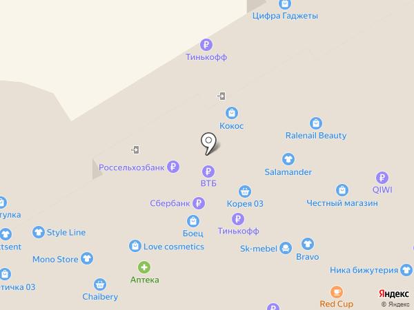 Детали на карте Улан-Удэ