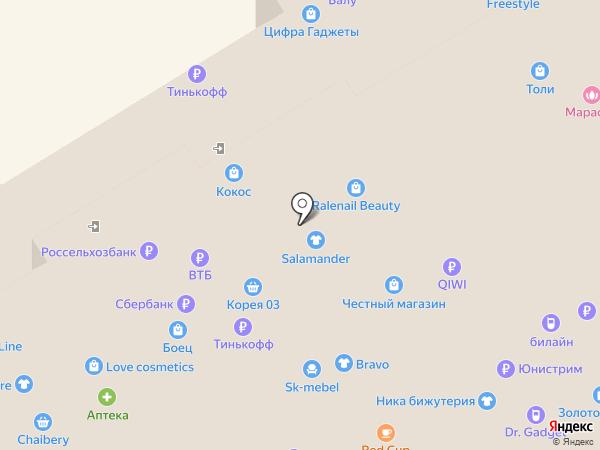 Линзомат на карте Улан-Удэ