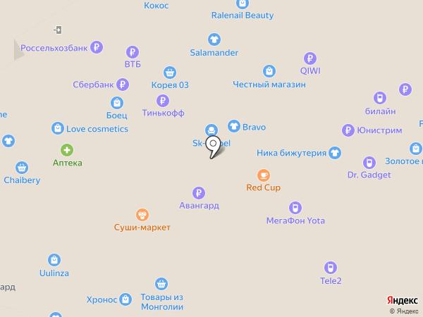 Aminoclub на карте Улан-Удэ