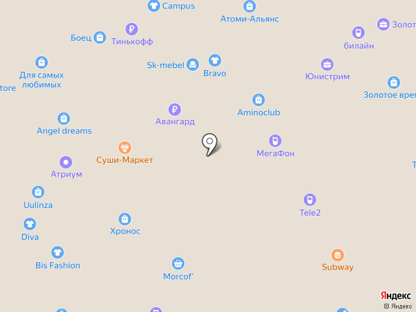 Магия самоцветов на карте Улан-Удэ