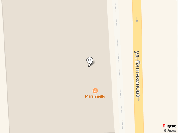 Балт Бет на карте Улан-Удэ