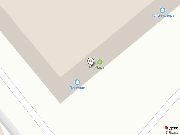 Росомаха на карте Улан-Удэ