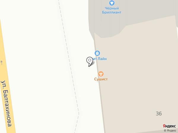 RedRiver на карте Улан-Удэ