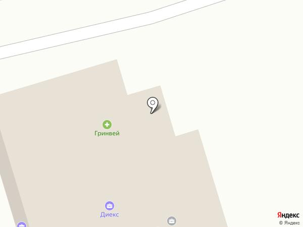 Маленький лебедь на карте Улан-Удэ