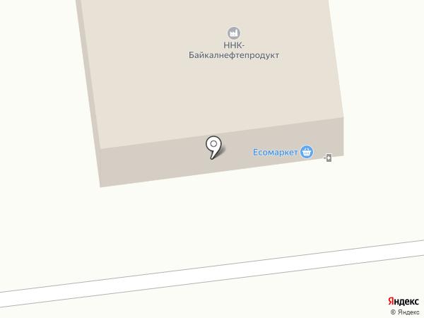 АЗС на карте Улан-Удэ