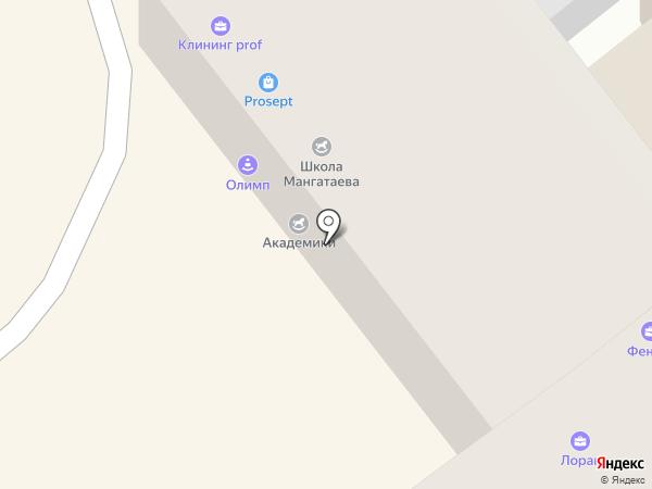 Байхэ на карте Улан-Удэ