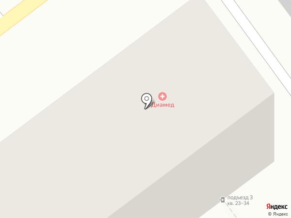 Диамед на карте Улан-Удэ