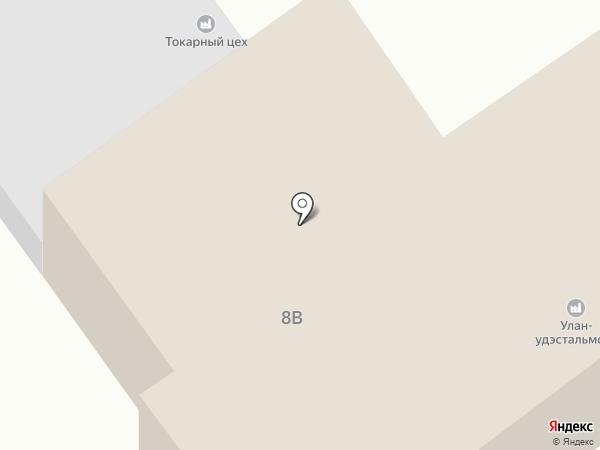 Центр оклейки такси на карте Улан-Удэ