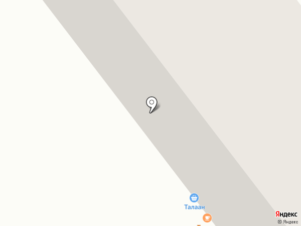 Талаан на карте Улан-Удэ
