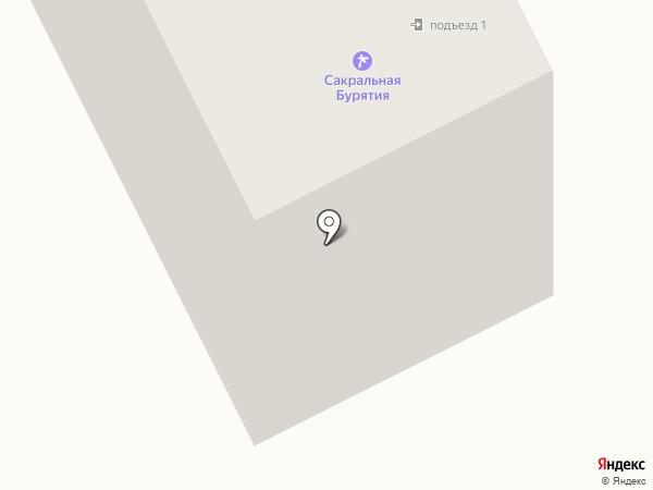 Личность на карте Улан-Удэ
