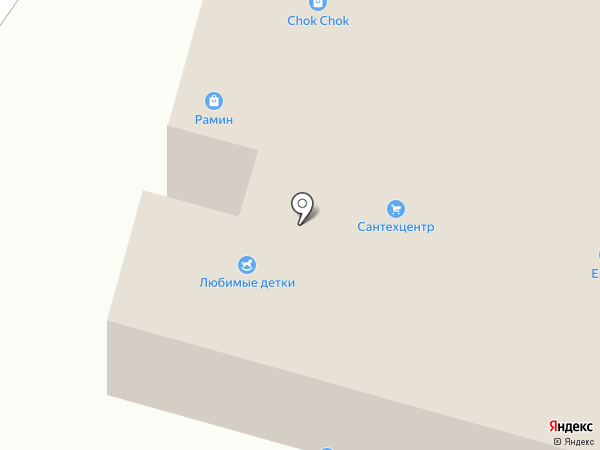 Магазин элитной бижутерии на карте Улан-Удэ