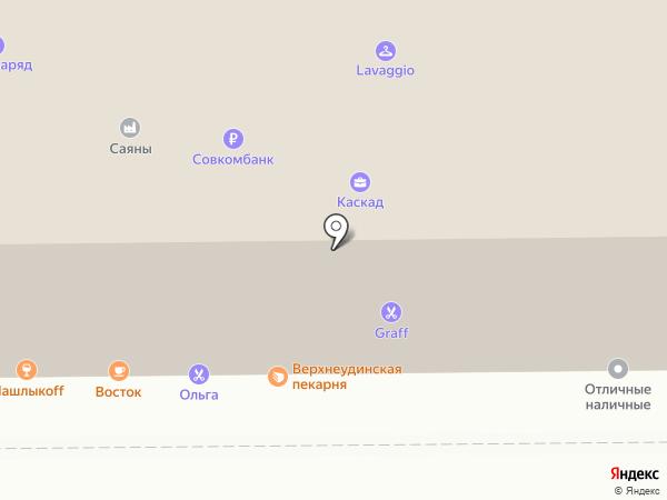 Трикотаж-Центр на карте Улан-Удэ