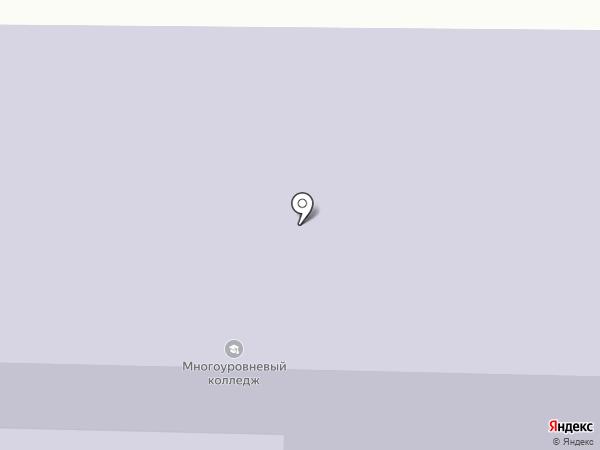 Республиканский многоуровневый колледж на карте Улан-Удэ
