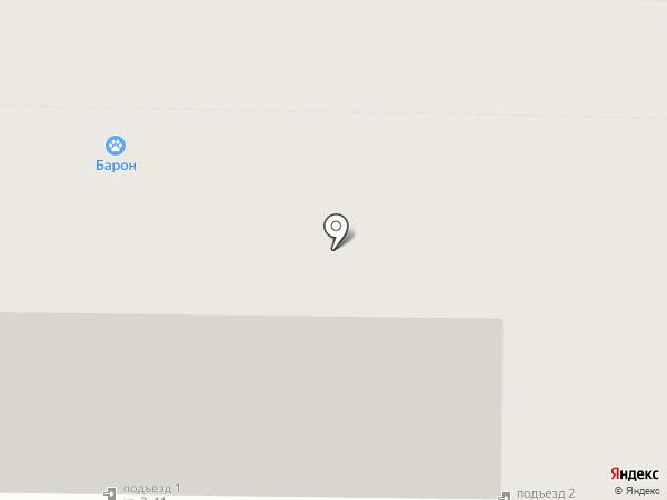 Хаски на карте Улан-Удэ