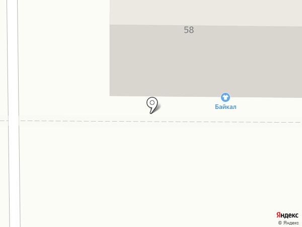 Караван Бууз на карте Улан-Удэ